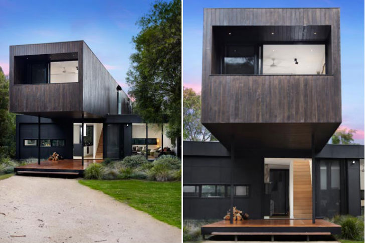 Modscape S Point Leo Prefab Is A Bold Amp Sustainable