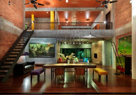 S11 House, ArchiCentre, Petaling Jaya, Selangor, Malaysia, Platinum, Malaysia's Green Building Index, house, sustainable, tropical, landscape preservation, material reuse, recycle, natural ventilation, photovoltaic, solar power, rainwater collection,