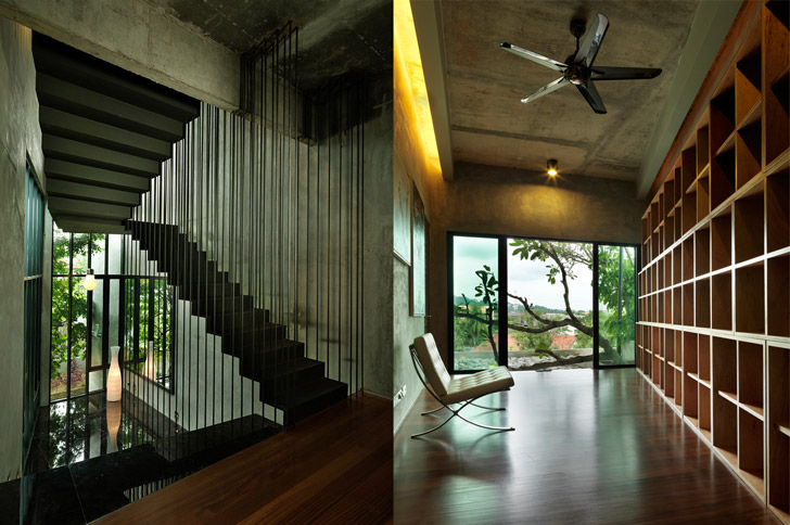 S11 house in malaysia scores platinum level on green for Architecture design malaysia house