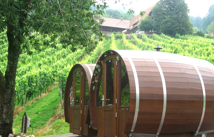 Schlafen im Weinfass Wine Barrel Room « Inhabitat – Green Design ...