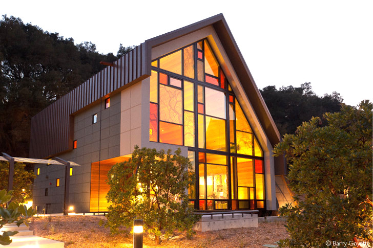 Studio 2G Architectsu0027 LEED Gold Shale Oak Winery Is Constructed With  Reclaimed Materials