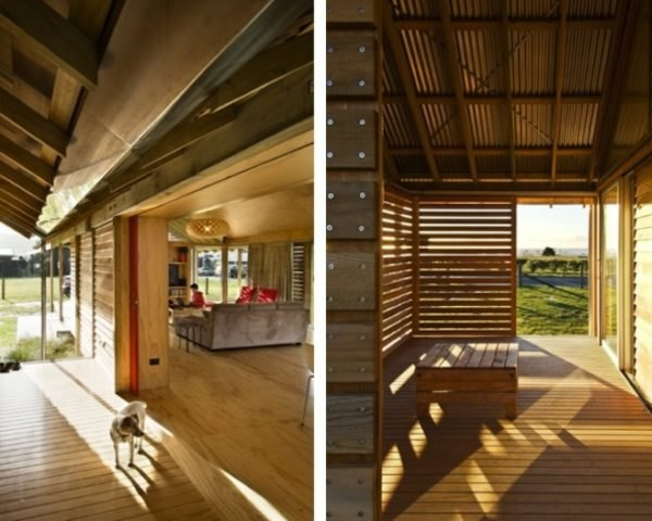 Wooden Shoal Bay Bach Is A Sweet Minimalist Retreat In New Zealand - Fashionable-one-storey-house-by-parsonson-architects