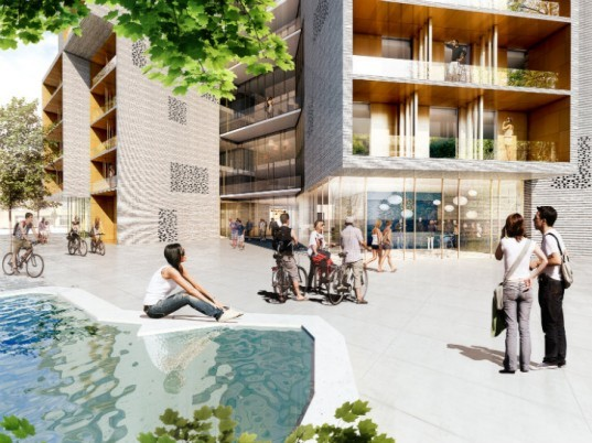 Student Housing, University of Southern Denmark, CF Moller, denmark, eco housing, green housing, green building, sustainable architecture, odense