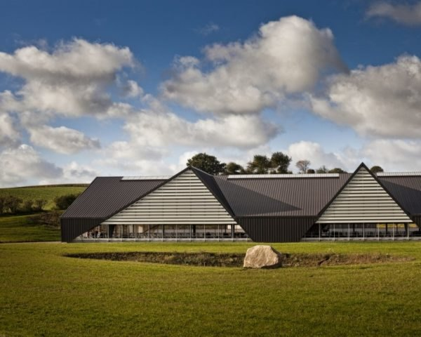 Vejlskovgaard Stable, Odder, Denmark, dairy cows, club med for dairy cows, milk, farm, design, sustainable design, ventilation, eco design, daylighting, natural light