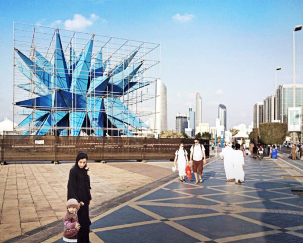 Wendy in Abu Dhabi, HWKN, wendy abroad, abu dhabi sustainability week, air quality, architecture installation