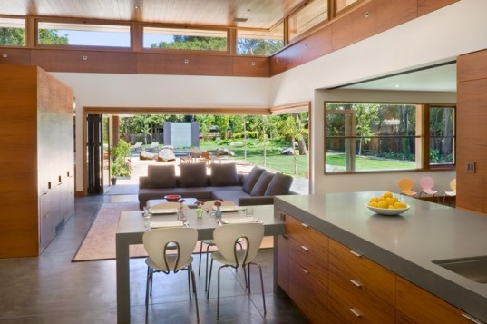 Wheeler Residence, William Duff Architects, Menlo Park, San Francisco, Sustainable, Residence, Pool, Fibonacci, natural ventilation, passive solar, daylighting, solar hot water, photovoltaics, hydronic floor heating