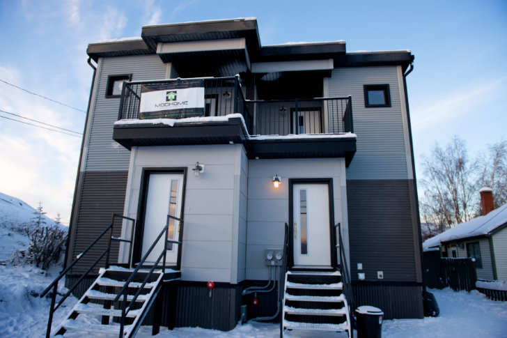 Yellowknife duplex 2 smpl design studio design competitions for Duplex plans canada