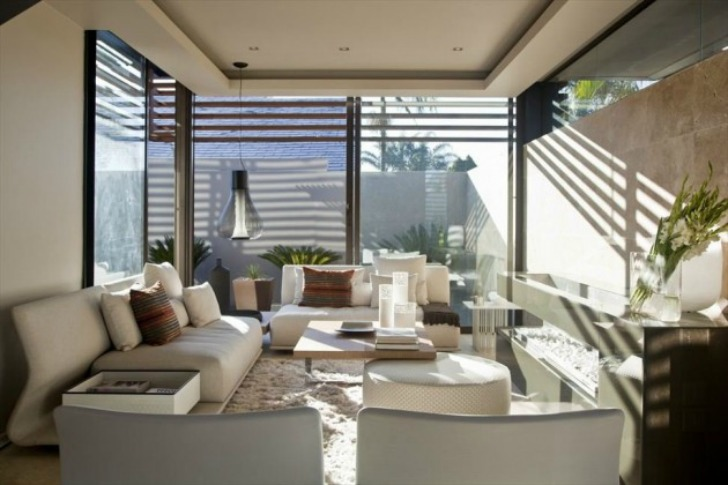 Living At Home Abo house abo beats the heat in south africa with cooling