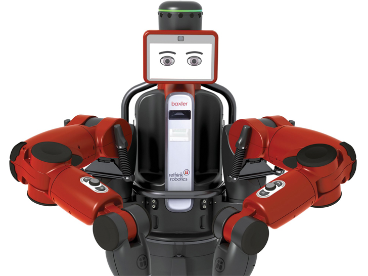 Baxter The Humanoid Robot Promises To Revive Us Manufacturing