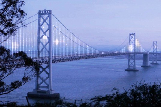 the bay lights, led, bay bridge, san francisco, leo villareal, illuminate the arts