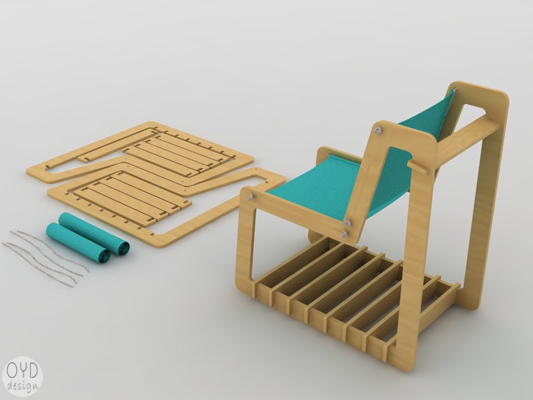 diy furniture, green furniture, flat pack furniture, eco furniture, oyd design, fs chair, flat pack chair, diy chair