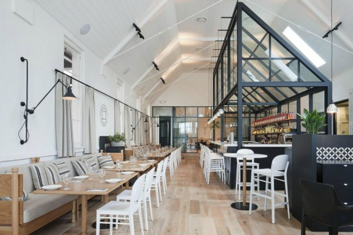 Former Church Transformed Into Old Library Restaurant By