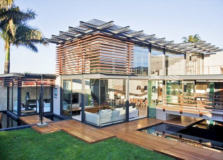 House abo beats the heat in south africa with natural for Home design ideas south africa