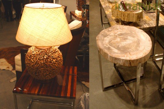Las Vegas Market, Sustainable Furnishings, Green Furniture, Eco Home, Coconut, Petrified Wood, Leaf Resin