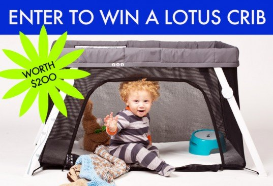green gear for parents, green toddler, guava family, Inhabitots giveaway, lotus crib, lotus everywhere crib, nontoxic playpen, nontoxic portable crib, portable crib, portable playpen, safe cribs, safe playpens