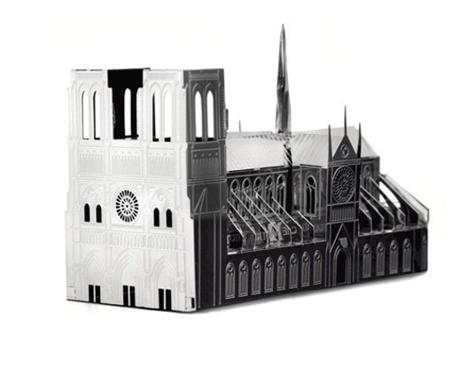 monumini, another studio, notre dame mini, bradenburg gate mini, building sets, building kits, architecture models