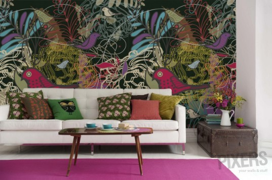 Print a giant wall mural of your own design using pixers for Create your own wall mural photo