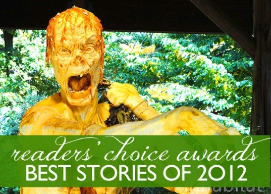 readers choice 2012, top green stories of 2012, eco stories of 2012, green news 2012, best stories of 2012, inhabitat readers choice winners