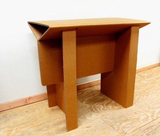 Chairigami Funky Cardboard Furniture Folded In Unexpected