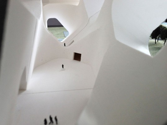 Steven Holl Architects, tianjin ecocity ecology and planning museums, green design, eco-architecture, ecology, sustainable design