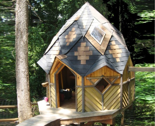 zome, bryan lemmel, wood play house, dome house, eco house, tree house, treehouse, eco treehouse, eco tree house, kids play house, balanced carpentry