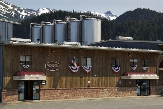 The Alaskan Brewing Company, brewery powered by its own beer, beer-powered brewery, Alaska, Juneau, steam turbine, Federal Rural Energy for America, clean energy, renewable energy, sustainable business model, environment, news