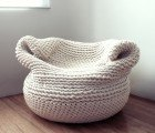 Amaya Gutierrez' Beautiful Knit Bdoja Chair is Handmade in Los Angeles