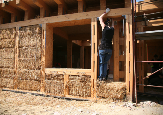 Attractive BAG Officinamobile Builds Romeu0027s First Straw Bale House « Inhabitat U2013 Green  Design, Innovation, Architecture, Green Building
