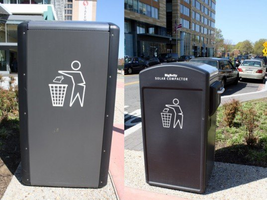 upper west side u0026 39 s first bigbelly solar trash can hits the