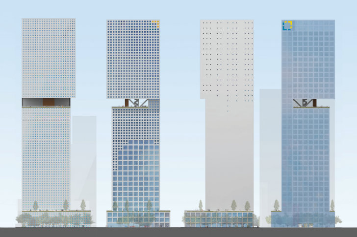 Oma Unveils Plans For Essence Financial Building With High