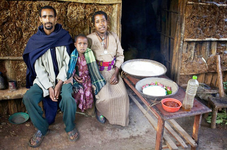 Oxfam Photo Essay Shows What Seven Families Across The