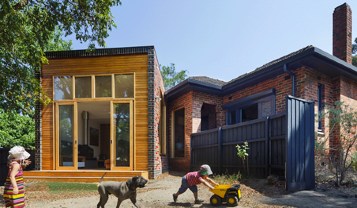 Solar-Powered Forever House: Dowdy Red Bricks Given New Life as a ...