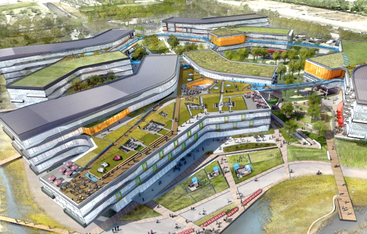 google office california. google unveils plans for enormous greenroofed expansion of california headquarters inhabitat green design innovation architecture building office d