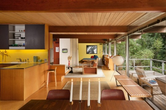 Hailey Residence, Richard Neutra, small space living, compact home, tiny houses, los angeles