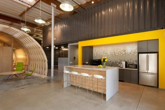 Hayden Place, Cuningham Group, eco office, green office, culver city, rethink development,