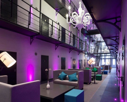green design, eco design, sustainable design, Het Arresthuis, prison hotel, Netherlands prison hotel, adaptive reuse