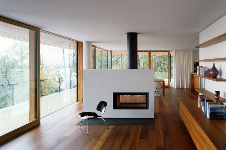 KM Architektur's Geothermal Heilbronn House Is A Timber