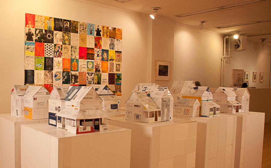 jeremiah johnson's dollhouses made from credit card applications