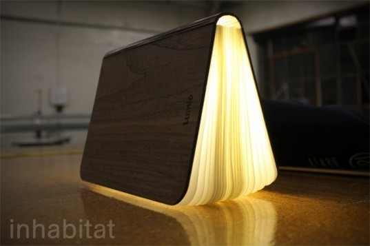 Max Gunawan, Lumio, Lumio lamp, lED, lithium-ion battery, green lighting, lighting, kickstarter, kickstarter project