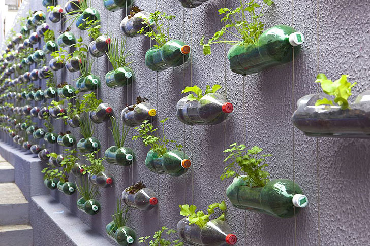 Charming Rosenbaum Creates A Sprawling Vertical Garden From Hundreds Of Recycled  Soda Bottles | Inhabitat   Green Design, Innovation, Architecture, Green  Building