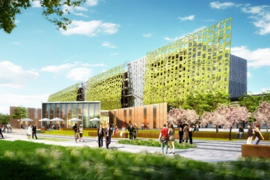 Samsung Campus, NBBJ, Samsung, green campus, eco campus, san jose, silicon valley, samsun