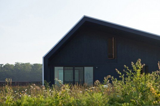 Studio Moffitt, Limekiln Line, Off-Grid, Agricultural Home, ontario, canada, energy efficient, passive house, deck, Architecture, energy efficiency
