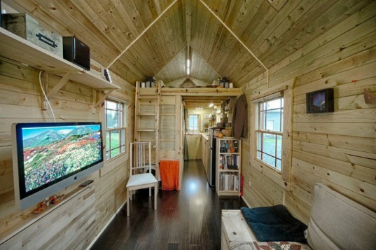 Tiny Tack House, Chris and Malissa Tack, tiny house, small house, small space living, micro home,