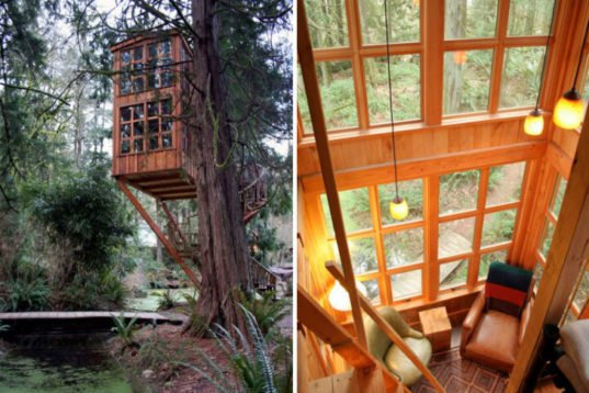 Treehouse Point Eco Resort Helps You Reconnect With Nature In