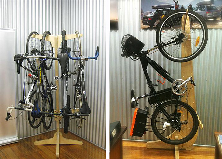 Beau Bicycle Storage Designs Creates An Eco Friendly Indoor Storage Solution For  Bikes