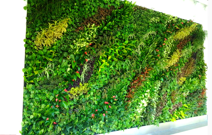 7 Gorgeous Vertical Gardens That Bring Living, Growing Art To The Walls Of  New York City | Inhabitat   Green Design, Innovation, Architecture, ...