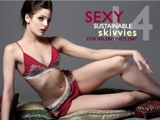 eco-gifts, valentine's gifts, green valentine's presents, eco presents, valentine's day, sustainable gifts valentine's day, valentine's day 2013, green gift guide, 14 eco-friendly lingerie gifts, sustainable lingerie, eco lingerie, green fashion, sustainable style