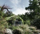 Green Box: Gorgeous studio completely wrapped in living plants by Act_Romegialli