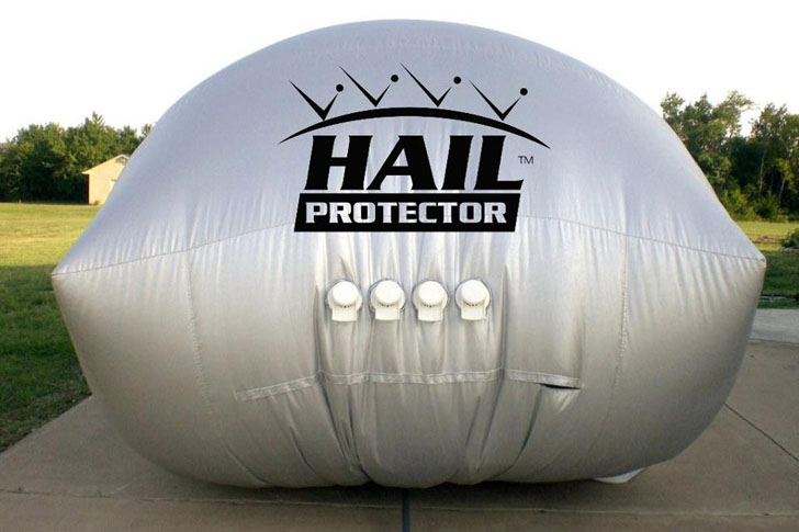 the hail protector an external airbag that shields your. Black Bedroom Furniture Sets. Home Design Ideas