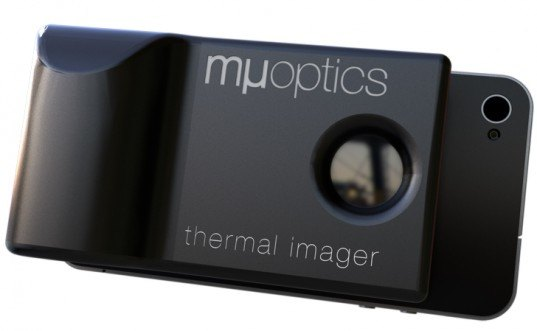 Mµ Thermal Imager, mu thermal imager, thermal camera, winter-proofing, home improvement, diy, green gadgets, winterize your home, affordable thermal camera, iphone app, laptop accessory